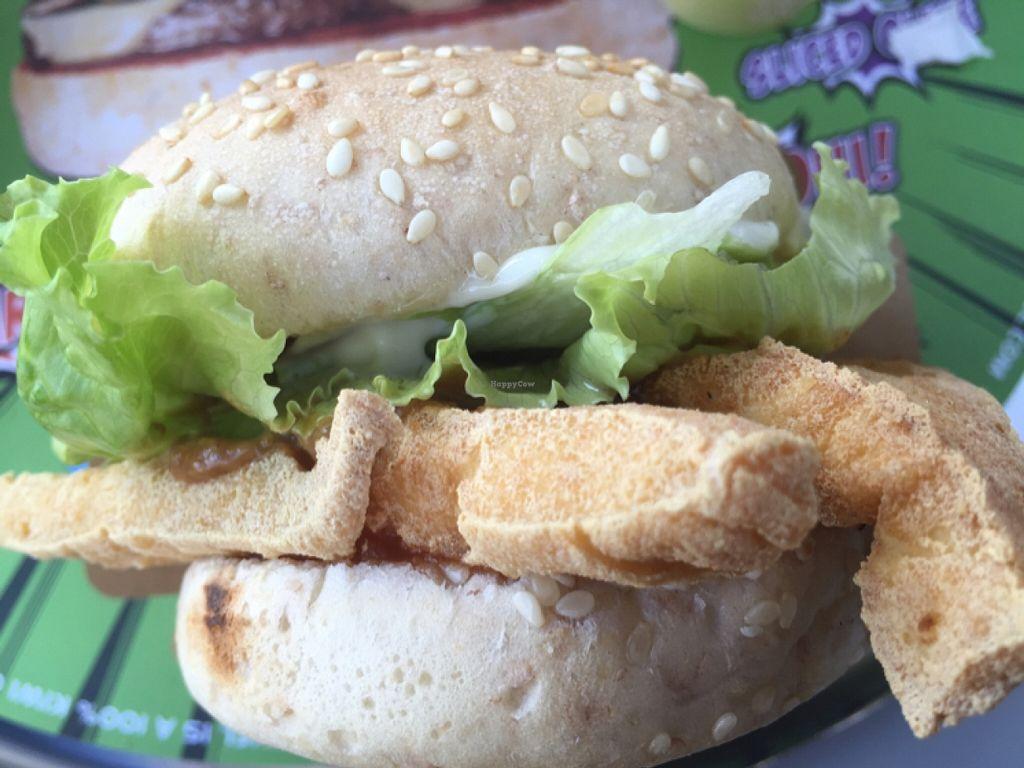 "Photo of BurgerFuel  by <a href=""/members/profile/Kimxula"">Kimxula</a> <br/>tofu, avocado, teriyaki and peanut sauce burger <br/> January 9, 2016  - <a href='/contact/abuse/image/53081/131618'>Report</a>"