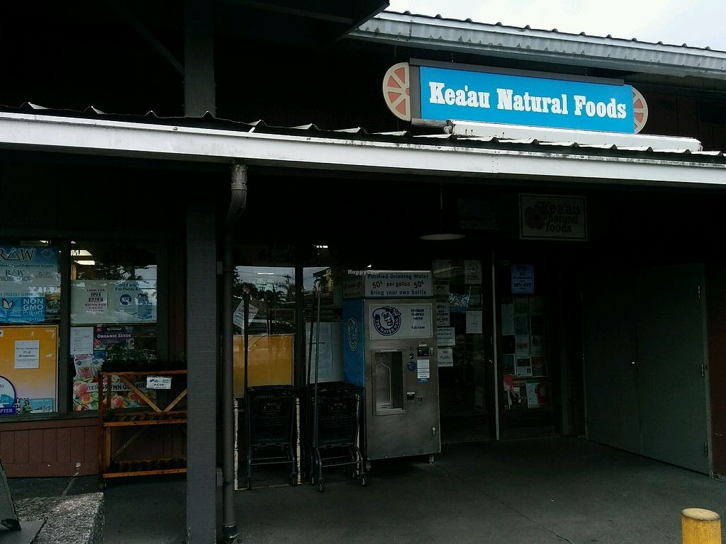 """Photo of Keaau Natural Foods  by <a href=""""/members/profile/alexandra_vegan"""">alexandra_vegan</a> <br/>storefront <br/> October 1, 2017  - <a href='/contact/abuse/image/5309/310352'>Report</a>"""