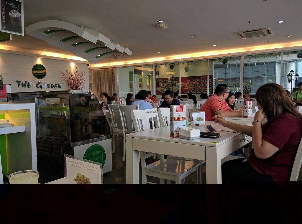 "Photo of The Garden Restaurant - Krystal Point  by <a href=""/members/profile/Summer_Tan"">Summer_Tan</a> <br/>Inside the restaurant. Pretty big shop, a lot of tables <br/> February 2, 2018  - <a href='/contact/abuse/image/53118/353820'>Report</a>"