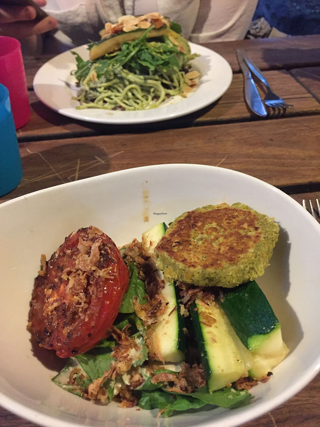 """Photo of Lentil As Anything - Abbotsford Convent  by <a href=""""/members/profile/meislnicoline"""">meislnicoline</a> <br/>Nice food :) <br/> April 12, 2018  - <a href='/contact/abuse/image/5313/384276'>Report</a>"""