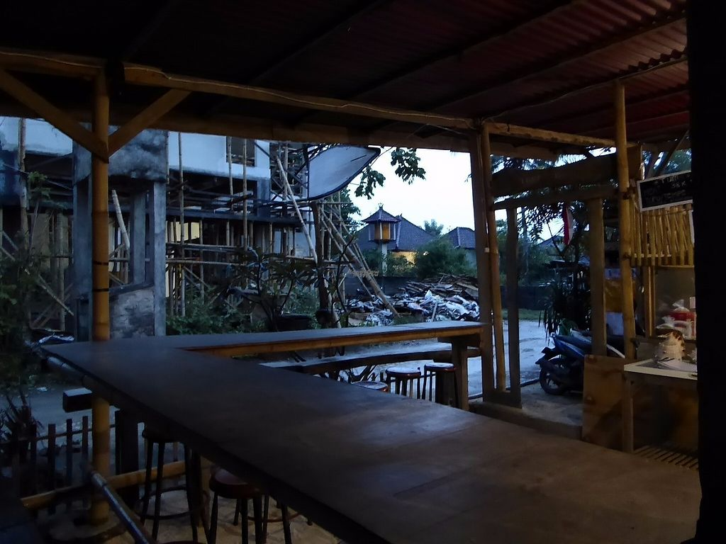 """Photo of Maria's Boemboe Bali Warung  by <a href=""""/members/profile/VeganNatascha"""">VeganNatascha</a> <br/>Langer Tisch <br/> January 26, 2017  - <a href='/contact/abuse/image/53142/217420'>Report</a>"""