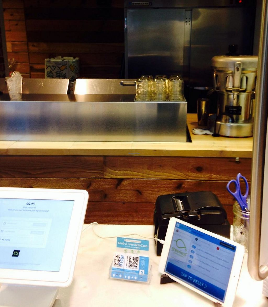 """Photo of Greenleaf Juicing Company - Pioneer Square  by <a href=""""/members/profile/cookiem"""">cookiem</a> <br/>Register <br/> November 17, 2014  - <a href='/contact/abuse/image/53146/220562'>Report</a>"""