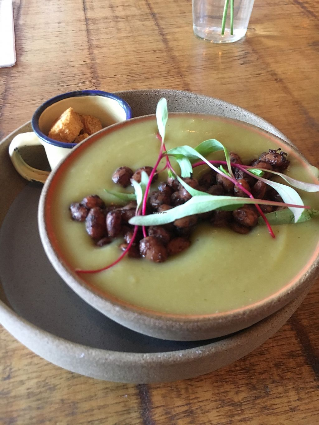 """Photo of Org Bistro  by <a href=""""/members/profile/reesebergeron"""">reesebergeron</a> <br/>amazing sweet potato soup  <br/> September 14, 2017  - <a href='/contact/abuse/image/53158/304325'>Report</a>"""