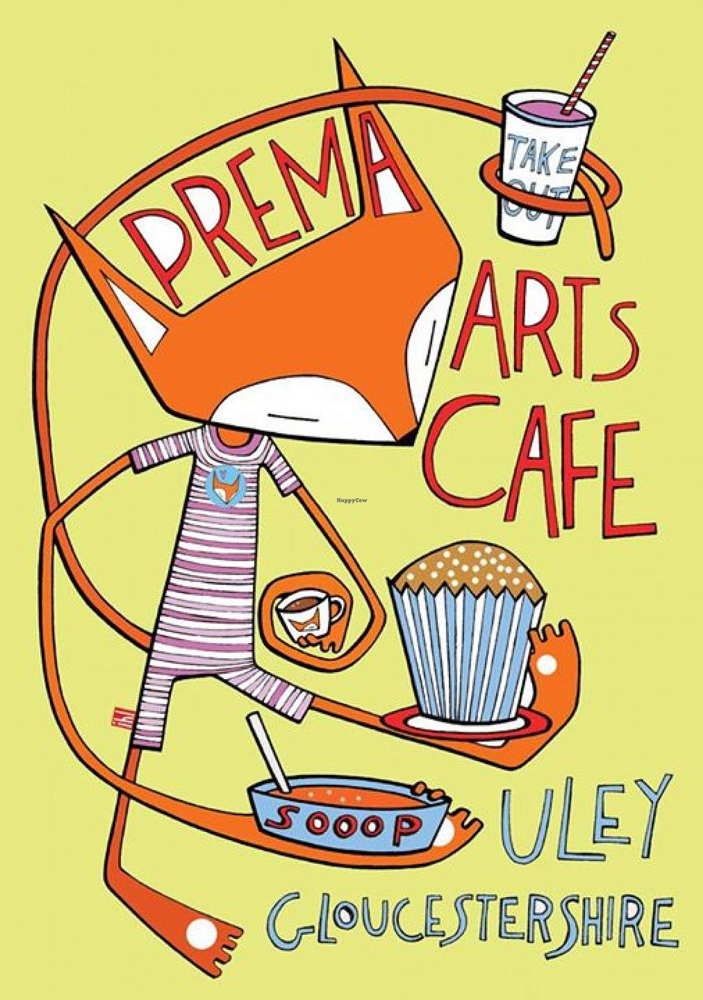 "Photo of Vestry Cafe  by <a href=""/members/profile/community"">community</a> <br/>Prema Arts Cafe Logo  <br/> November 27, 2014  - <a href='/contact/abuse/image/53181/86606'>Report</a>"