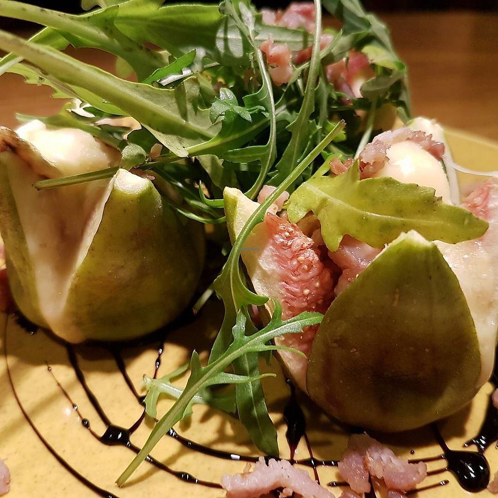 """Photo of The Jolly Farmer  by <a href=""""/members/profile/CharlieHardstone"""">CharlieHardstone</a> <br/>Goats cheese stuffed, oven roasted figs <br/> February 22, 2018  - <a href='/contact/abuse/image/53184/362378'>Report</a>"""
