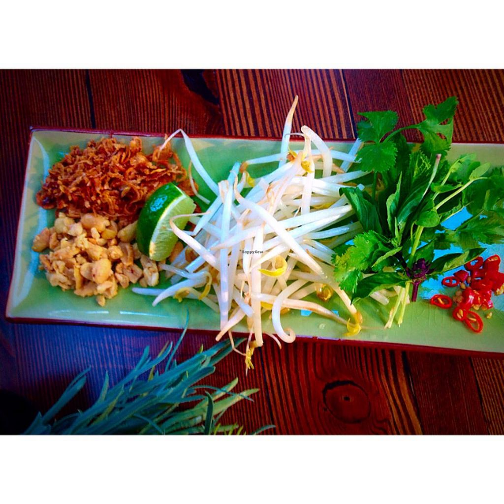 "Photo of The Crabapple Cafe  by <a href=""/members/profile/The%20Crabapple%20Cafe"">The Crabapple Cafe</a> <br/>Vegan Pho condiments <br/> May 15, 2015  - <a href='/contact/abuse/image/53191/102307'>Report</a>"