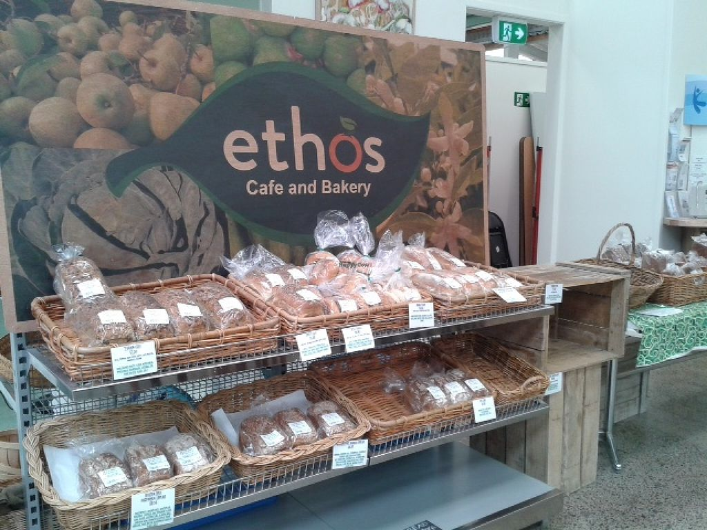 """Photo of East West Organics - New Lynn  by <a href=""""/members/profile/Veganswife"""">Veganswife</a> <br/>Ethos organic bakery in East West Organics supermarket and cafe <br/> October 20, 2015  - <a href='/contact/abuse/image/53196/121911'>Report</a>"""