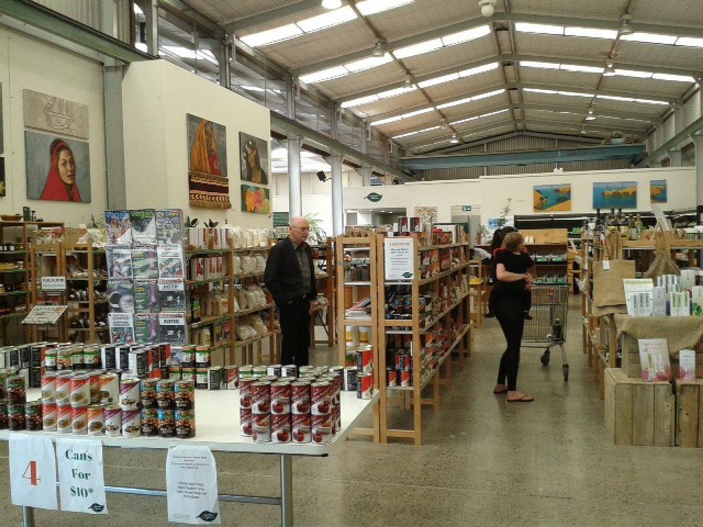 """Photo of East West Organics - New Lynn  by <a href=""""/members/profile/Veganswife"""">Veganswife</a> <br/>East West Organics supermarket <br/> October 20, 2015  - <a href='/contact/abuse/image/53196/121914'>Report</a>"""