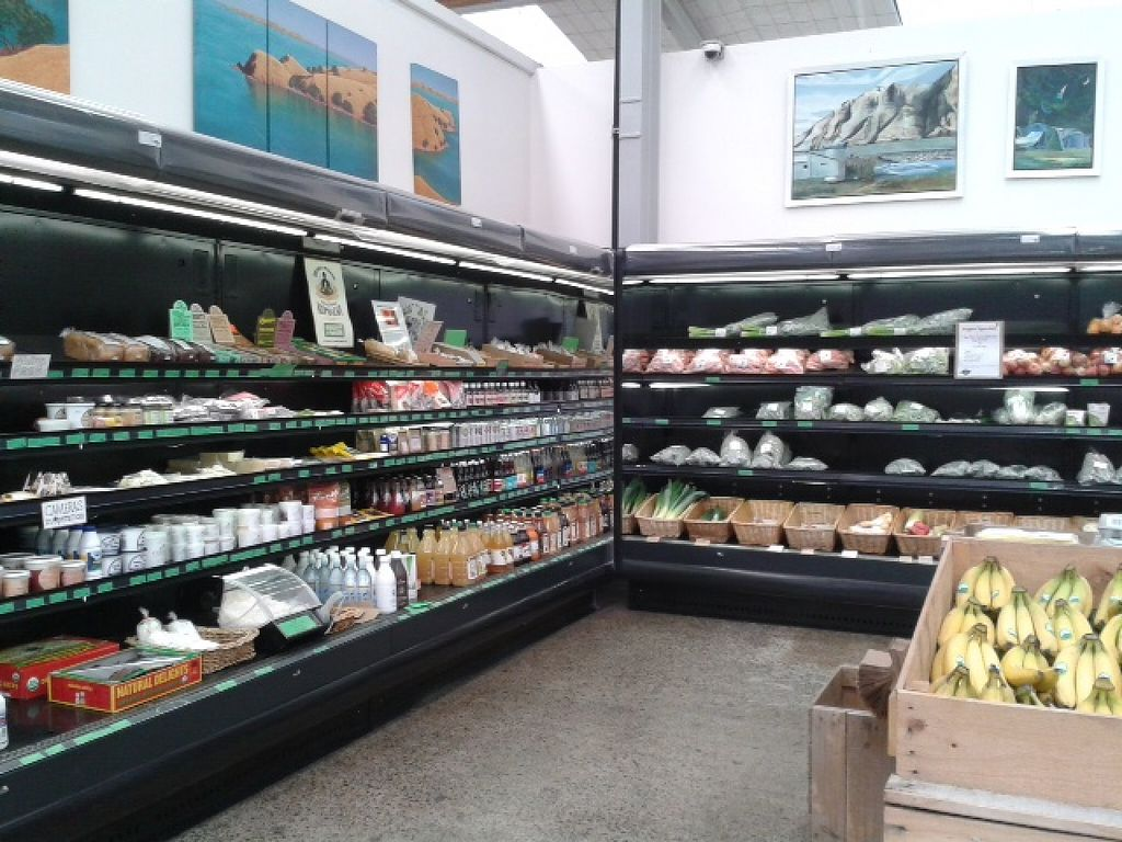 """Photo of East West Organics - New Lynn  by <a href=""""/members/profile/Veganswife"""">Veganswife</a> <br/>Neat and tidy organic supermarket <br/> October 20, 2015  - <a href='/contact/abuse/image/53196/121915'>Report</a>"""