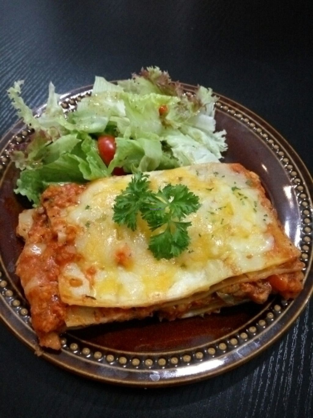 """Photo of Veggie Macau  by <a href=""""/members/profile/pianista"""">pianista</a> <br/>Vegetarian lasagne <br/> July 18, 2016  - <a href='/contact/abuse/image/53199/160677'>Report</a>"""
