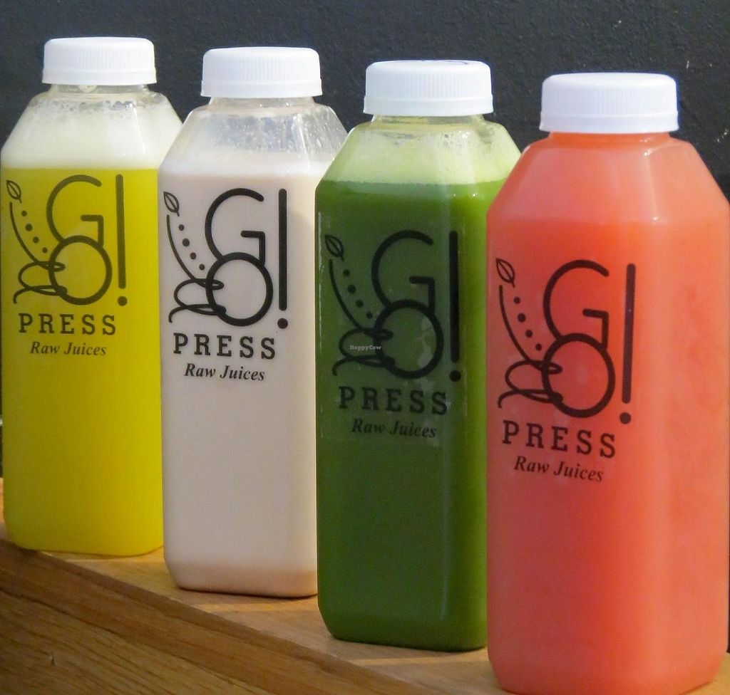 """Photo of CLOSED: GO Smoothies  by <a href=""""/members/profile/GoMonica"""">GoMonica</a> <br/>GO! Press raw, organic juice <br/> November 23, 2014  - <a href='/contact/abuse/image/53218/204200'>Report</a>"""