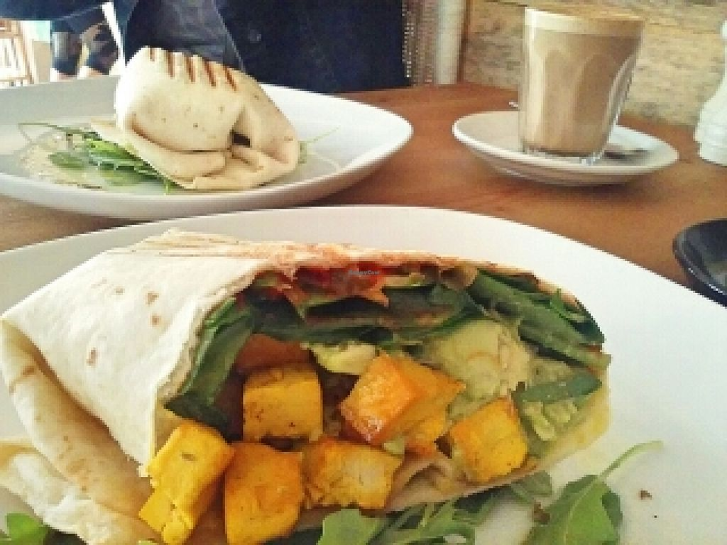 """Photo of Little River  by <a href=""""/members/profile/verbosity"""">verbosity</a> <br/>vegan breakfast wrap <br/> November 1, 2015  - <a href='/contact/abuse/image/53224/123458'>Report</a>"""