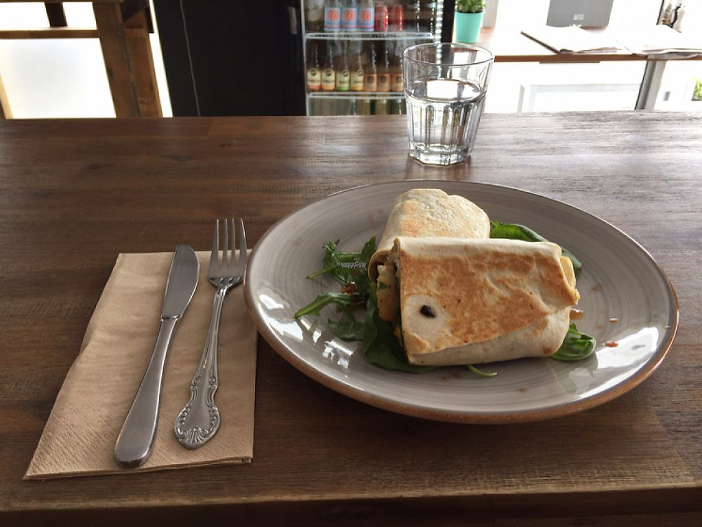 """Photo of Little River  by <a href=""""/members/profile/Wuji_Luiji"""">Wuji_Luiji</a> <br/>Tofu and hashbrown wrap <br/> December 1, 2016  - <a href='/contact/abuse/image/53224/196133'>Report</a>"""