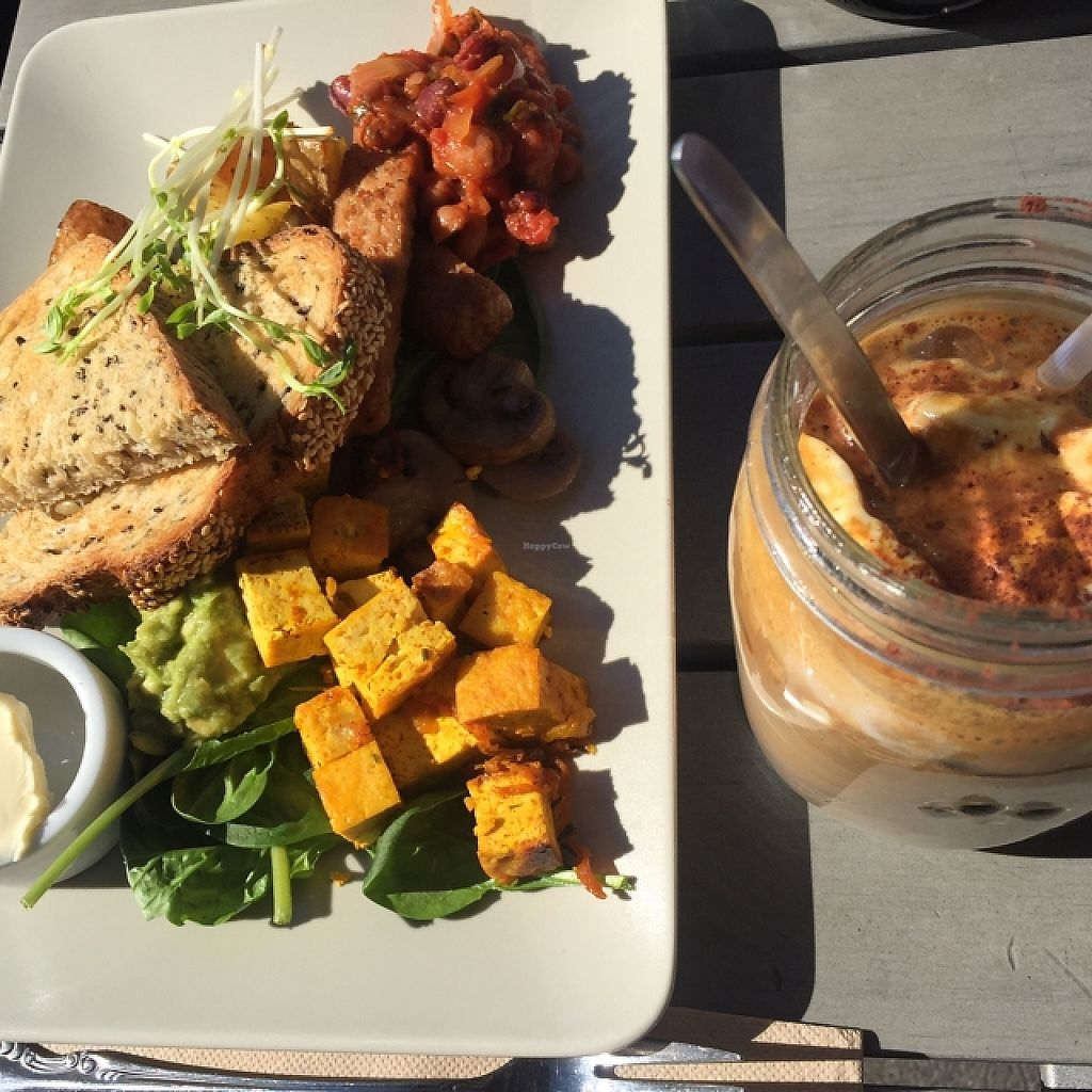 """Photo of Little River  by <a href=""""/members/profile/Ari%20Gis"""">Ari Gis</a> <br/>vegan little river brekky and iced coffee <br/> April 24, 2016  - <a href='/contact/abuse/image/53224/256091'>Report</a>"""