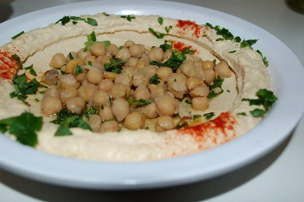 """Photo of Olive Tree Hummus Express  by <a href=""""/members/profile/community"""">community</a> <br/>Hummus  <br/> November 26, 2014  - <a href='/contact/abuse/image/53229/86572'>Report</a>"""