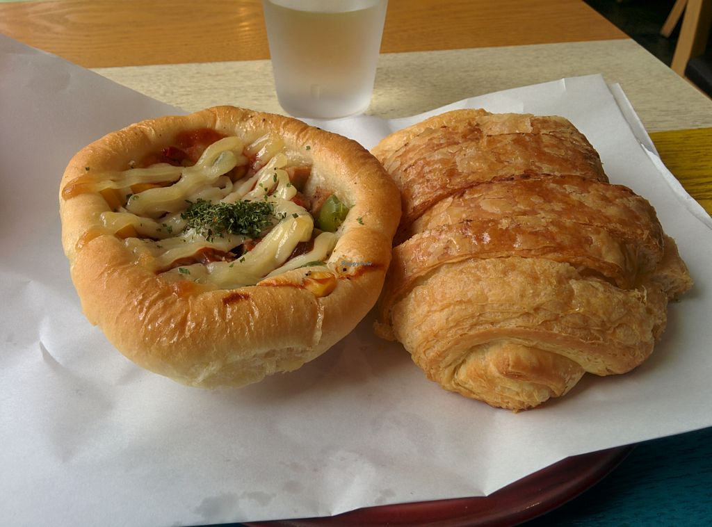 "Photo of The Bread Blue - Nogosan - 더브레드블루 신촌점  by <a href=""/members/profile/idontwantone"">idontwantone</a> <br/>Ham and cheese pastry <br/> August 4, 2015  - <a href='/contact/abuse/image/53248/112311'>Report</a>"