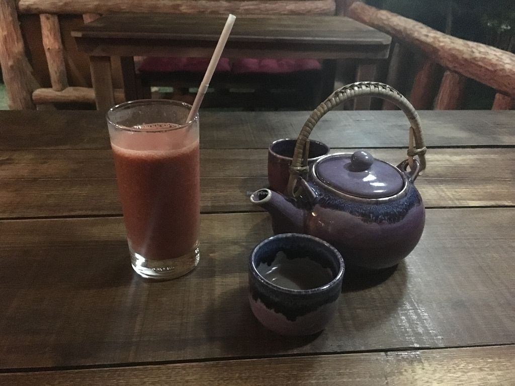 Photo of Akasha Home Restaurant  by lantern <br/>Goji berry,wheat grass,strawberry juice <br/> March 20, 2016  - <a href='/contact/abuse/image/53254/140699'>Report</a>