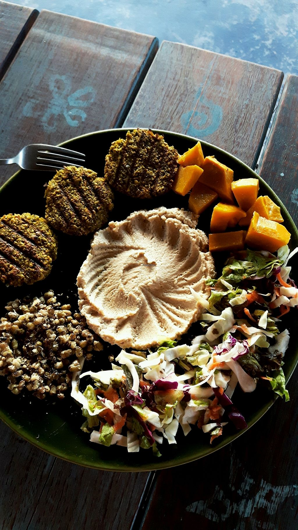 "Photo of Akasha Home Restaurant  by <a href=""/members/profile/CharityBosua"">CharityBosua</a> <br/>Falafel and hummus plate with extra pumpkin <br/> March 4, 2018  - <a href='/contact/abuse/image/53254/366636'>Report</a>"