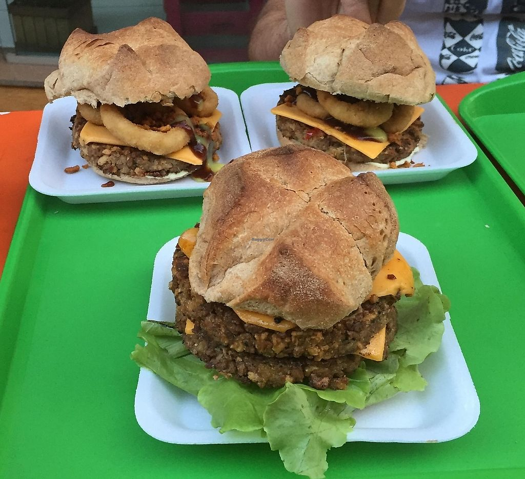 """Photo of CLOSED: Ala Verde  by <a href=""""/members/profile/Paolla"""">Paolla</a> <br/>Hamburgers - Vegan country & vegan duplo <br/> November 24, 2015  - <a href='/contact/abuse/image/53288/303157'>Report</a>"""