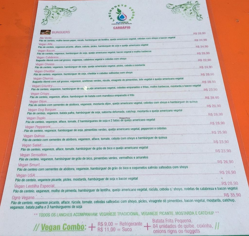 """Photo of CLOSED: Ala Verde  by <a href=""""/members/profile/Paolla"""">Paolla</a> <br/>Menu <br/> November 24, 2015  - <a href='/contact/abuse/image/53288/303161'>Report</a>"""