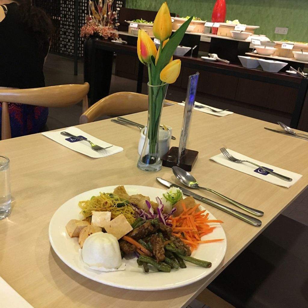 """Photo of Sky Hotel Kota Kinabalu - Green Table  by <a href=""""/members/profile/Spaghetti_monster"""">Spaghetti_monster</a> <br/>breakfast buffet <br/> March 13, 2017  - <a href='/contact/abuse/image/53301/235738'>Report</a>"""
