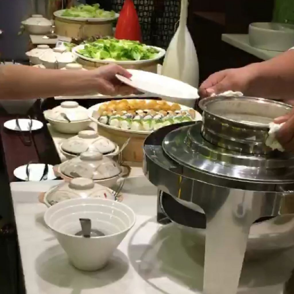 """Photo of Sky Hotel Kota Kinabalu - Green Table  by <a href=""""/members/profile/Spaghetti_monster"""">Spaghetti_monster</a> <br/>weekend evening buffet <br/> March 13, 2017  - <a href='/contact/abuse/image/53301/235743'>Report</a>"""