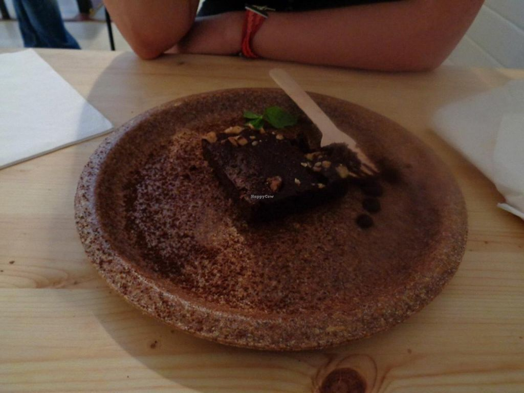 "Photo of Sova Vegan Butcher  by <a href=""/members/profile/Claremveg"">Claremveg</a> <br/>chocolate brownie  <br/> July 26, 2015  - <a href='/contact/abuse/image/53343/111034'>Report</a>"