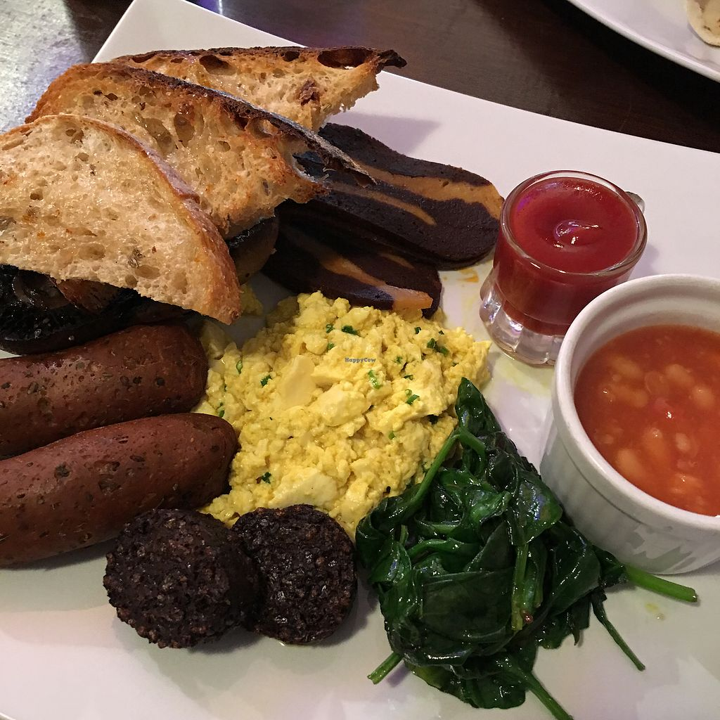 "Photo of Sova Vegan Butcher  by <a href=""/members/profile/NatashaJason"">NatashaJason</a> <br/>Full Irish breakfast  <br/> January 1, 2018  - <a href='/contact/abuse/image/53343/341827'>Report</a>"