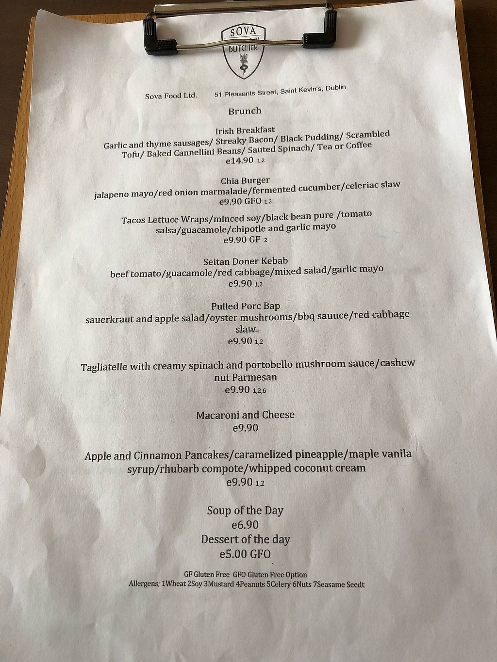 "Photo of Sova Vegan Butcher  by <a href=""/members/profile/_hael"">_hael</a> <br/>Brunch Menu <br/> April 23, 2018  - <a href='/contact/abuse/image/53343/389945'>Report</a>"