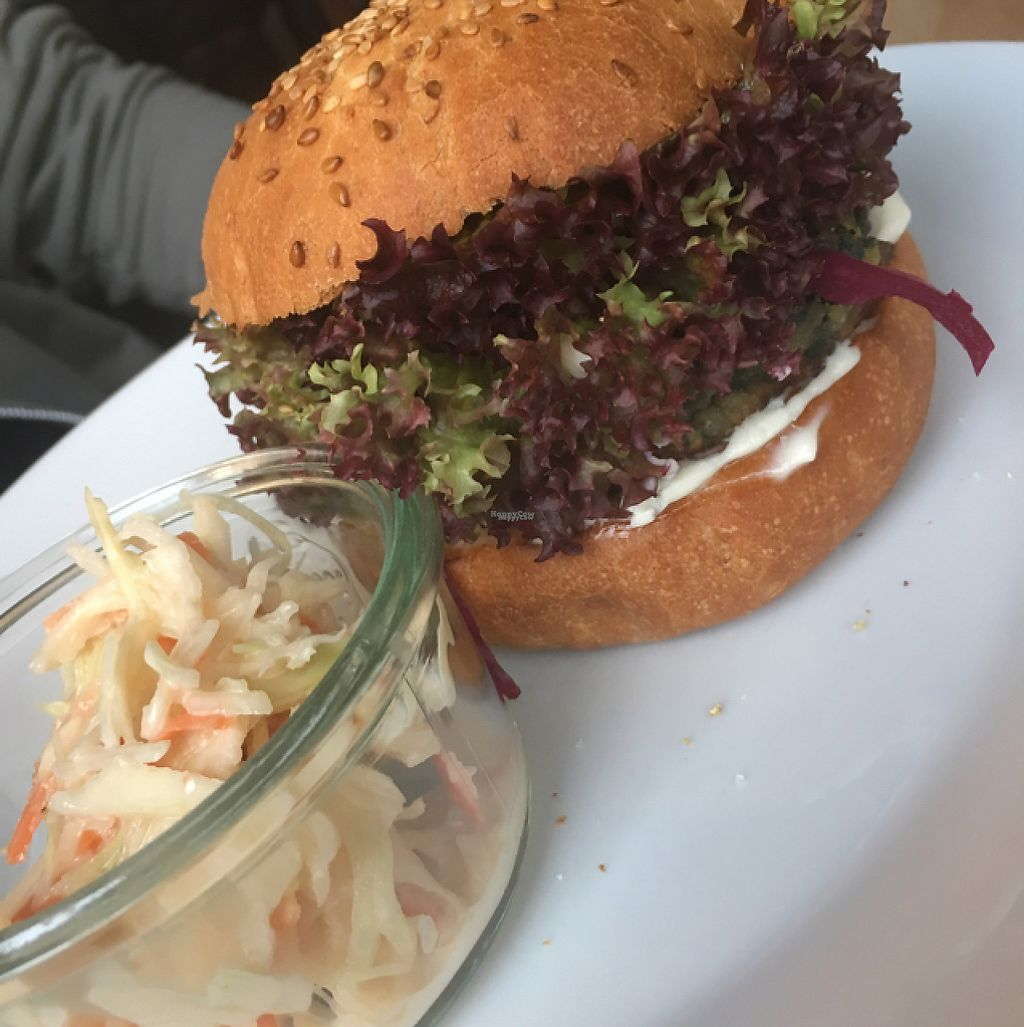 "Photo of Mamacoffee  by <a href=""/members/profile/RuthByrne"">RuthByrne</a> <br/>Burger with vegan coleslaw  <br/> February 23, 2017  - <a href='/contact/abuse/image/53346/229692'>Report</a>"