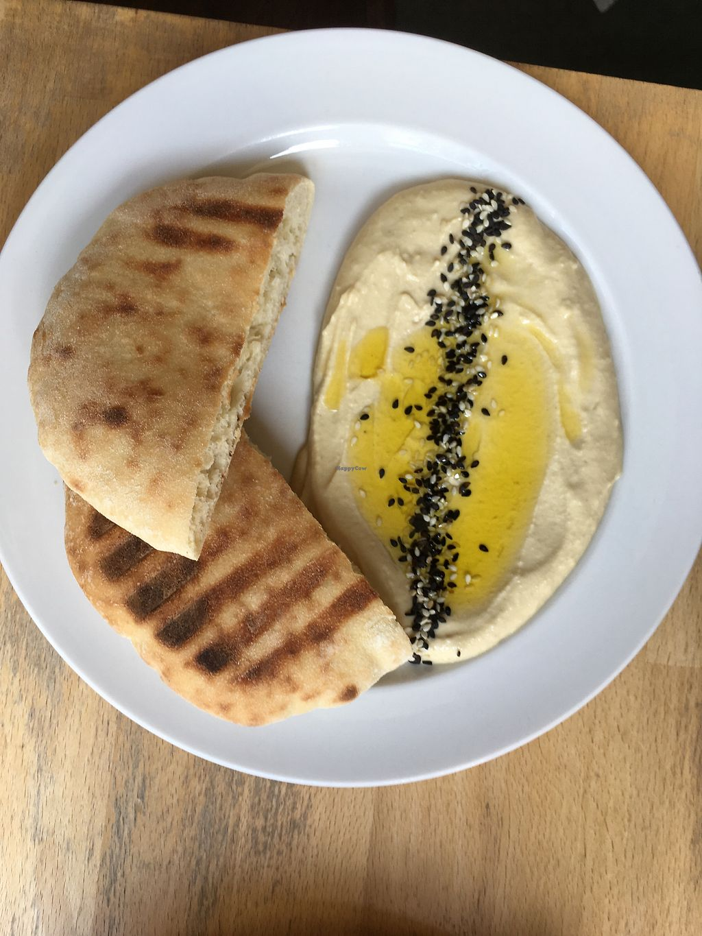 "Photo of Mamacoffee  by <a href=""/members/profile/CammK"">CammK</a> <br/>Hummus + pita <br/> July 23, 2017  - <a href='/contact/abuse/image/53346/283708'>Report</a>"