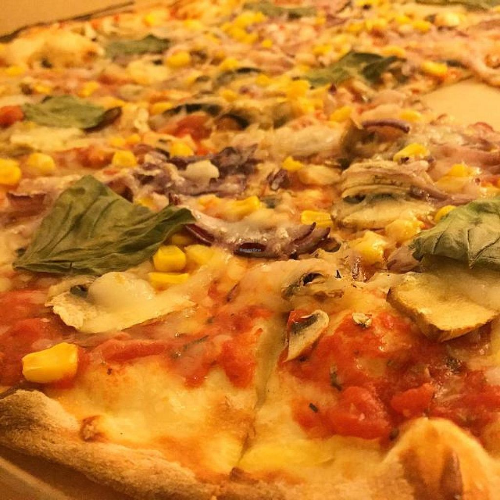 """Photo of Pizza Letna  by <a href=""""/members/profile/Mrchristian83"""">Mrchristian83</a> <br/>vegan pizza with vegan cheese <br/> November 26, 2014  - <a href='/contact/abuse/image/53362/86600'>Report</a>"""