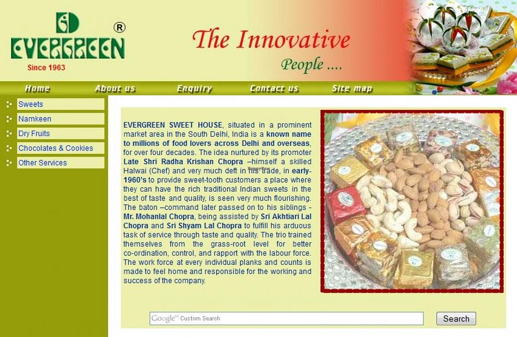 """Photo of Evergreen Sweet Shop  by <a href=""""/members/profile/community"""">community</a> <br/>Evergreen Sweet Shop <br/> November 26, 2014  - <a href='/contact/abuse/image/53366/86543'>Report</a>"""