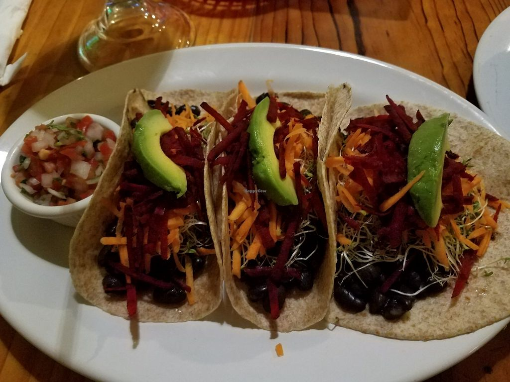 "Photo of Rock n' Java Caribbean Bar and Grill  by <a href=""/members/profile/Margief11"">Margief11</a> <br/>veggie tacos <br/> July 30, 2017  - <a href='/contact/abuse/image/53403/286654'>Report</a>"