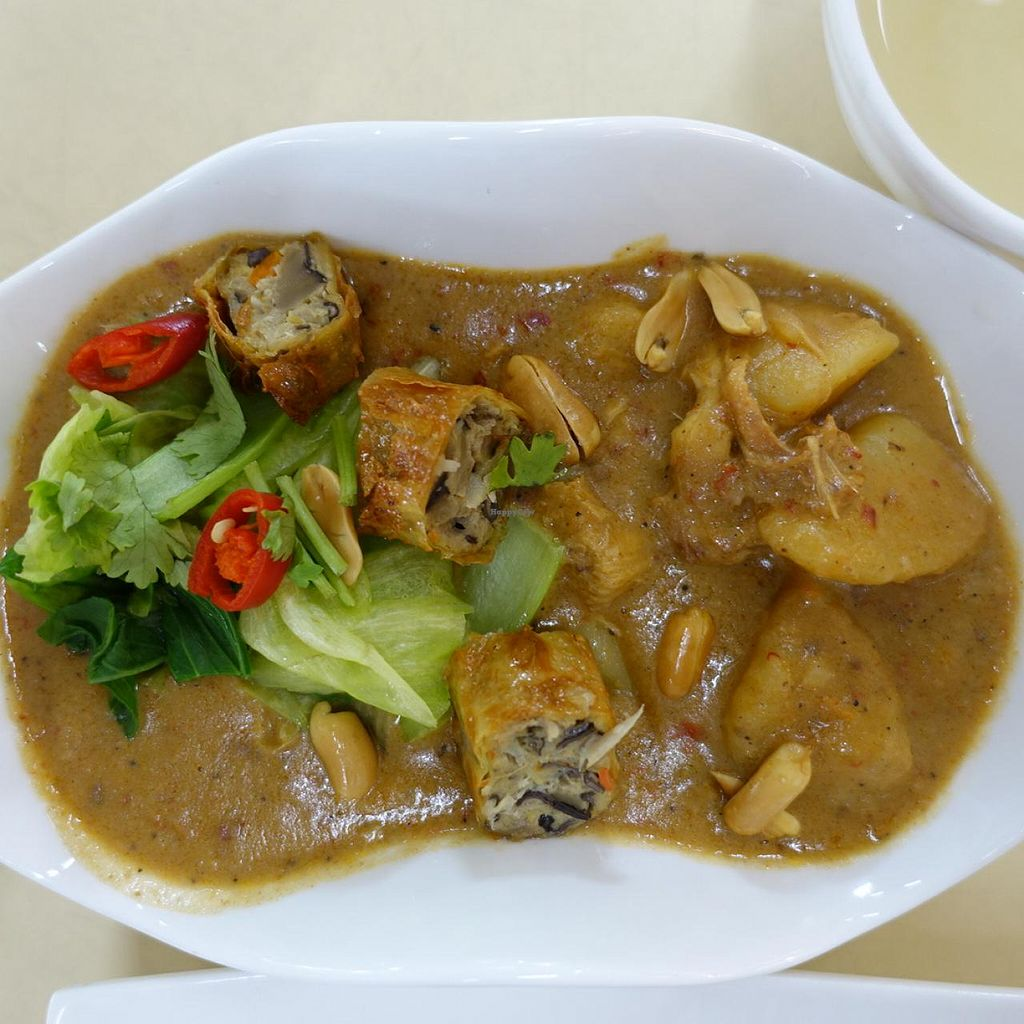 """Photo of Onn Vegetarian  by <a href=""""/members/profile/JimmySeah"""">JimmySeah</a> <br/>Thai massaman curry <br/> April 21, 2015  - <a href='/contact/abuse/image/53410/99800'>Report</a>"""