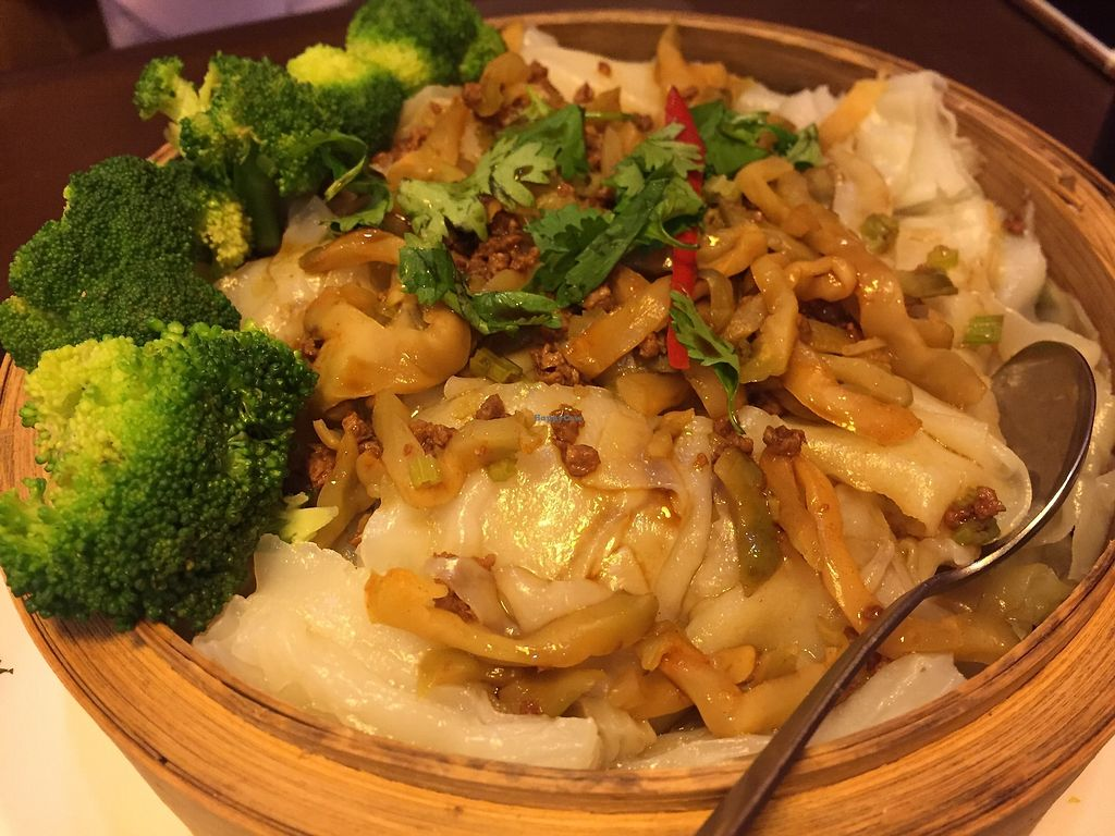 """Photo of Veggie Family  by <a href=""""/members/profile/SamanthaIngridHo"""">SamanthaIngridHo</a> <br/>Steamed Thick Rice Noodles in Lotus Leaf <br/> September 17, 2017  - <a href='/contact/abuse/image/53426/305194'>Report</a>"""