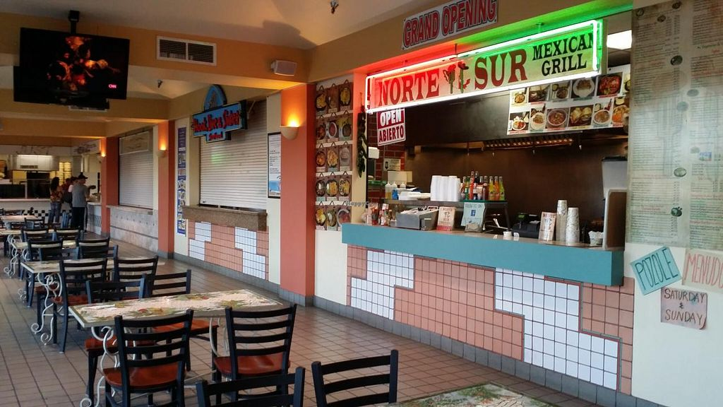 """Photo of Norte Sur  by <a href=""""/members/profile/Shnuddy"""">Shnuddy</a> <br/>Located in a strip mall <br/> July 12, 2015  - <a href='/contact/abuse/image/53445/109015'>Report</a>"""