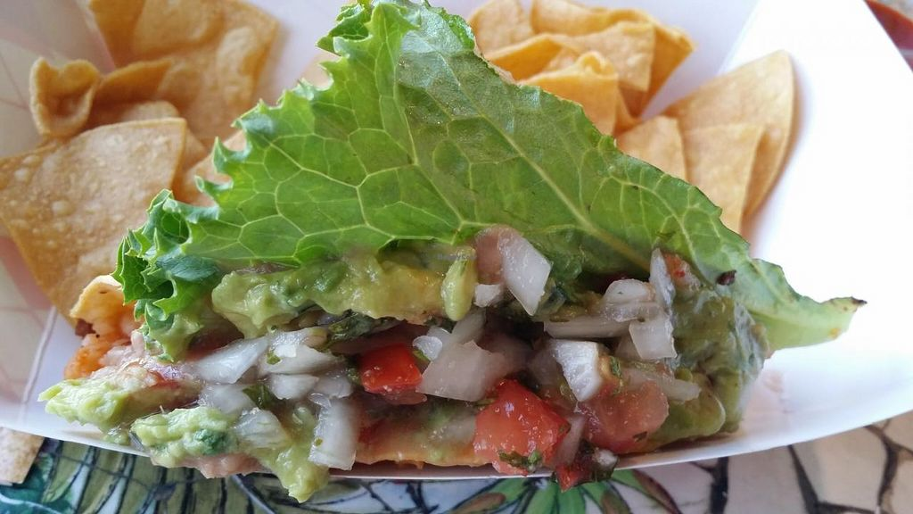 """Photo of Norte Sur  by <a href=""""/members/profile/Shnuddy"""">Shnuddy</a> <br/>Vegan taco <br/> July 12, 2015  - <a href='/contact/abuse/image/53445/109016'>Report</a>"""