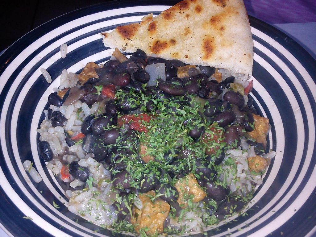 """Photo of Red Hook Grill  by <a href=""""/members/profile/jbkm"""">jbkm</a> <br/>black beans & rice w/ tofu <br/> December 5, 2014  - <a href='/contact/abuse/image/53455/87303'>Report</a>"""