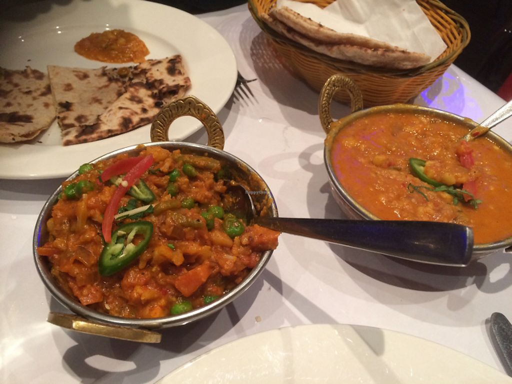 "Photo of Mother India Hobart  by <a href=""/members/profile/alia_801"">alia_801</a> <br/>Mixed veg curry, dal and roti <br/> May 26, 2017  - <a href='/contact/abuse/image/53488/262588'>Report</a>"