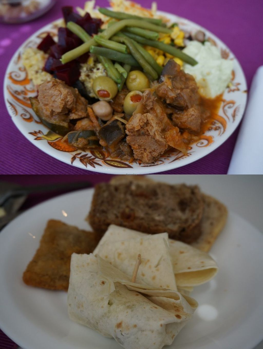 """Photo of Les Delices De Gigi  by <a href=""""/members/profile/Ricardo"""">Ricardo</a> <br/>Plate and appetizer from Sunday brunch <br/> July 17, 2016  - <a href='/contact/abuse/image/53495/160455'>Report</a>"""