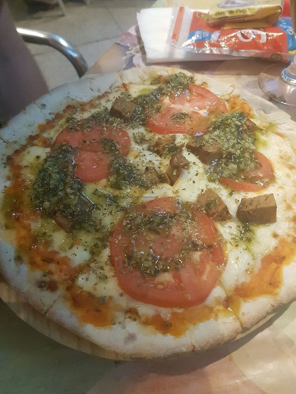 """Photo of Vegetalia - Raval  by <a href=""""/members/profile/NoraK"""">NoraK</a> <br/>pizza <br/> August 16, 2017  - <a href='/contact/abuse/image/53501/293324'>Report</a>"""