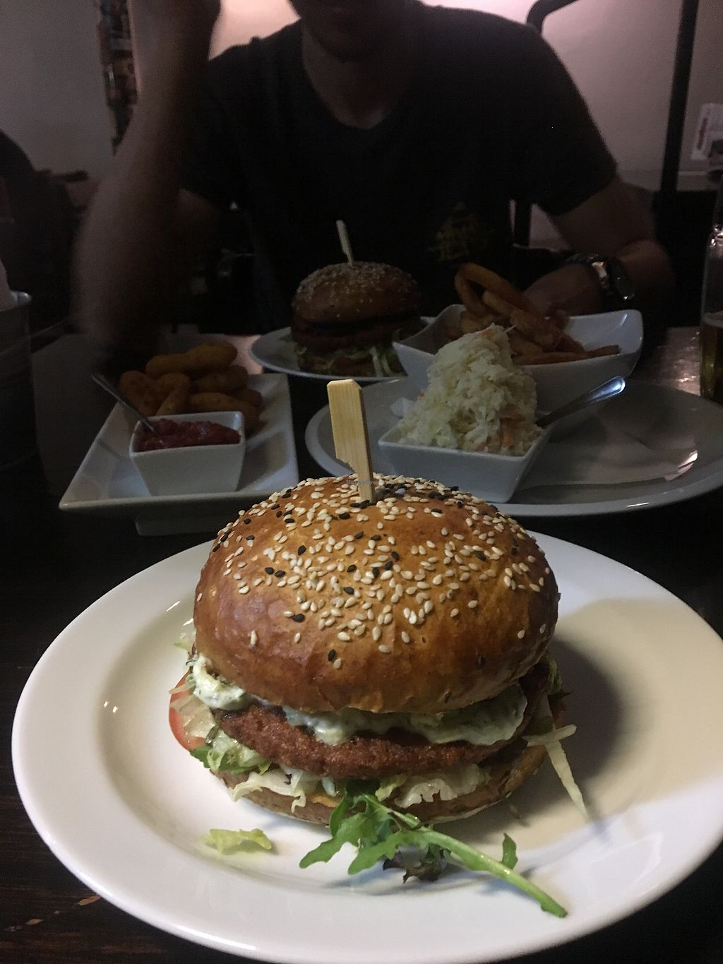 """Photo of Belzepub  by <a href=""""/members/profile/DomiGer"""">DomiGer</a> <br/>Best vegan burger <br/> November 5, 2017  - <a href='/contact/abuse/image/53523/322080'>Report</a>"""