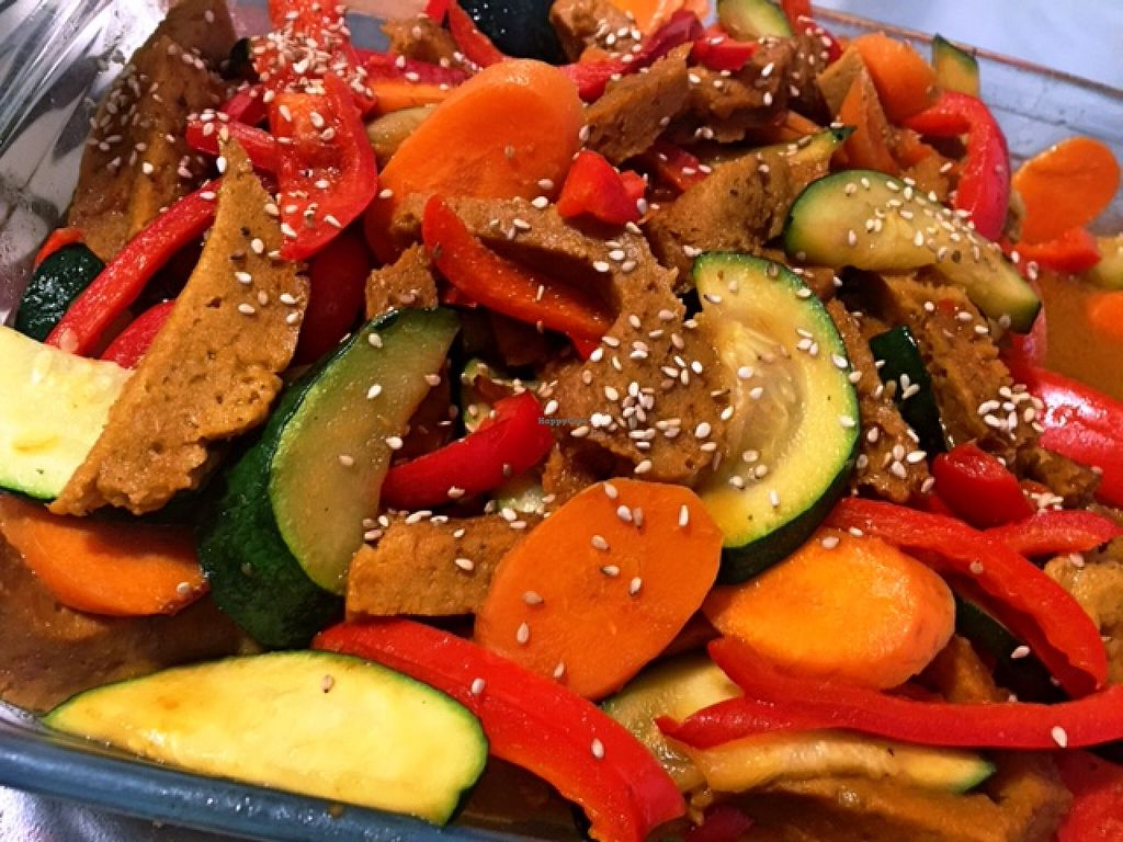 """Photo of Enjoy Vegan  by <a href=""""/members/profile/ENJOY%20VEGAN"""">ENJOY VEGAN</a> <br/>WOK DE SEITAN - seitan stir-fry <br/> January 30, 2016  - <a href='/contact/abuse/image/53530/134254'>Report</a>"""