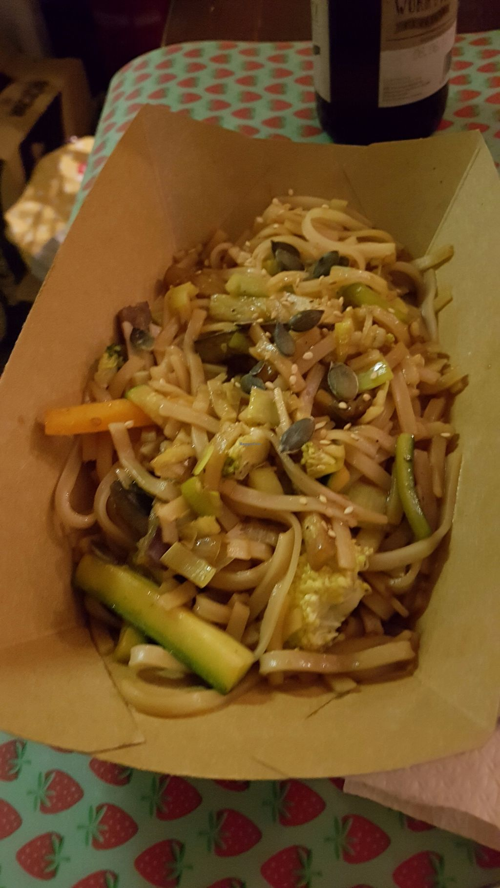 """Photo of Enjoy Vegan  by <a href=""""/members/profile/JonJon"""">JonJon</a> <br/>Wok of noodles <br/> August 21, 2017  - <a href='/contact/abuse/image/53530/295272'>Report</a>"""