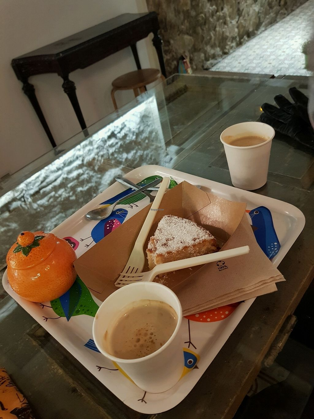 """Photo of Enjoy Vegan  by <a href=""""/members/profile/rachie18"""">rachie18</a> <br/>Cake and coffee <br/> February 10, 2018  - <a href='/contact/abuse/image/53530/357264'>Report</a>"""