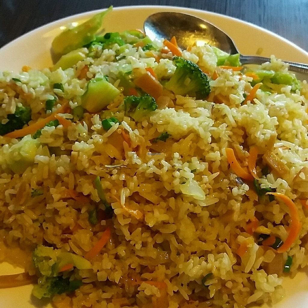 """Photo of Indochine Vegan  by <a href=""""/members/profile/Allisworn"""">Allisworn</a> <br/>Chef's fried rice <br/> October 4, 2017  - <a href='/contact/abuse/image/53542/311833'>Report</a>"""