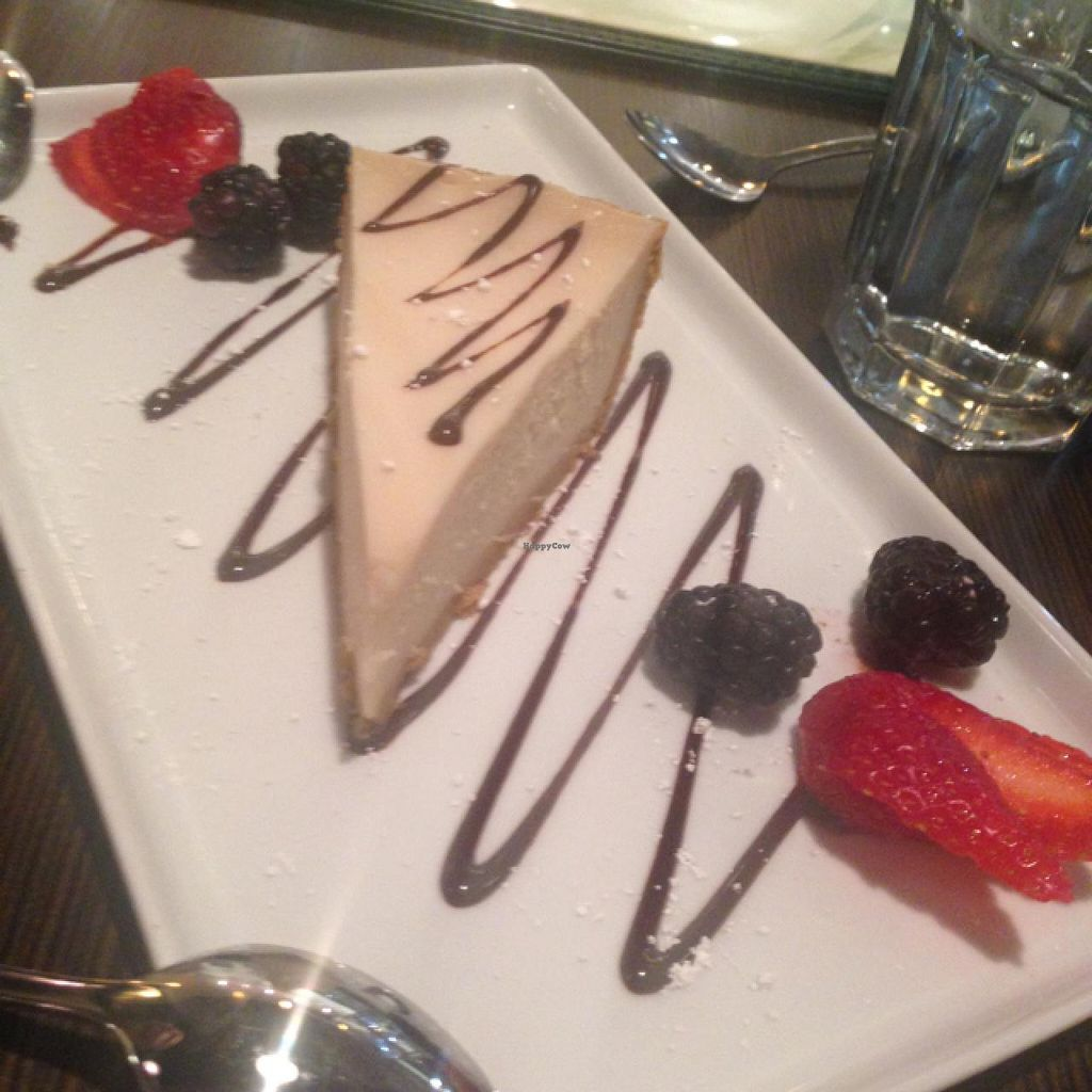 """Photo of Indochine Vegan  by <a href=""""/members/profile/AshleyLorden"""">AshleyLorden</a> <br/>cheesecake! <br/> January 22, 2015  - <a href='/contact/abuse/image/53542/91073'>Report</a>"""