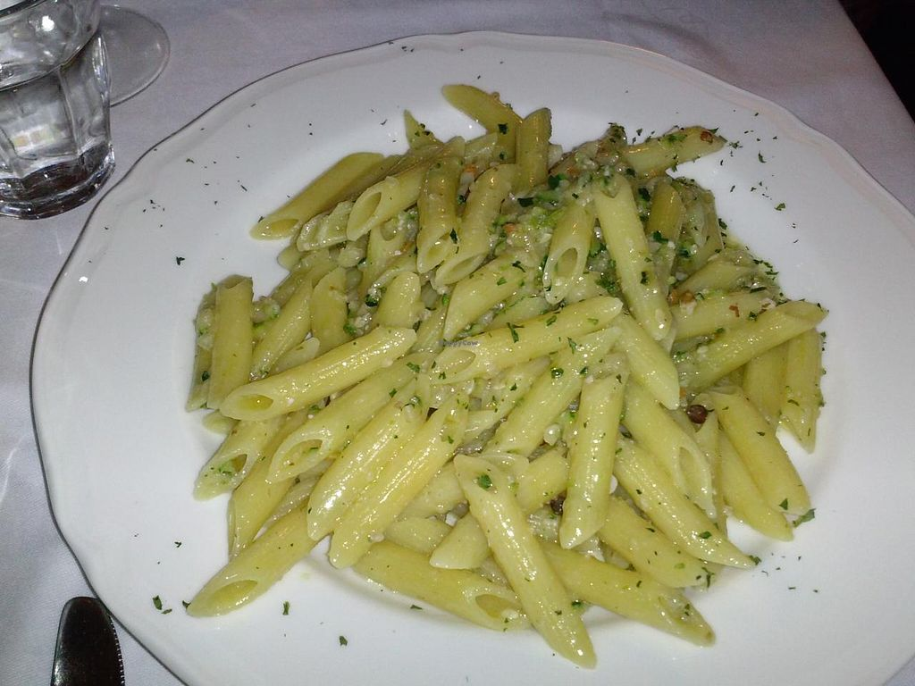 """Photo of Trattoria Enzo e Piero  by <a href=""""/members/profile/Sonja%20and%20Dirk"""">Sonja and Dirk</a> <br/>zucchini pesto pasta <br/> July 14, 2015  - <a href='/contact/abuse/image/53571/109352'>Report</a>"""