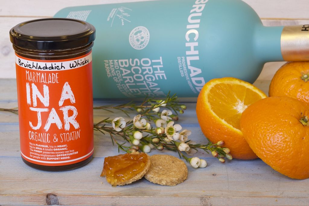 """Photo of CLOSED: In a Jar  by <a href=""""/members/profile/craigmc"""">craigmc</a> <br/>Scotland's only organic whisky Marmalade. 100% vegan. No waxed oranges <br/> April 6, 2016  - <a href='/contact/abuse/image/53582/143042'>Report</a>"""